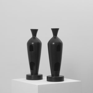 Bucchero 4 Vase