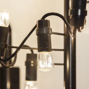 Pair of Mod. 226 Wall Lamps