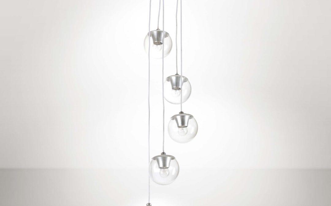 Mod. 2095/5 Ceiling Lamp