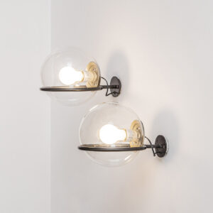 Pair of Mod. 237/1 Wall Lamps