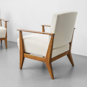 Pair of Mod. Columbus Armchairs