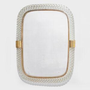 Small Treccia Mirror