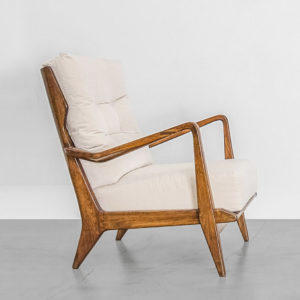 Pair of Mod. 516 Armchairs