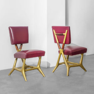 Pair of Mod. Settebello Chairs