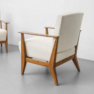 Pair of Mod. Columbus Armchairs